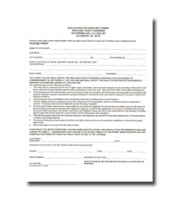 application permit